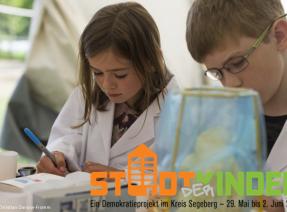 Stadt der Kinder: junge Forscher*innen
