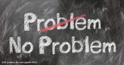 """Symbolbild: Nützliches für die Vereinsarbeit: """"Problem - no Problem"""""""