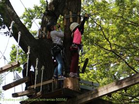 Juleica-Forbtildung: Kinder im Klettergarten