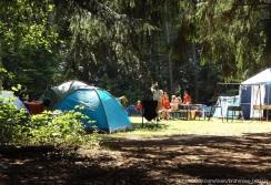 Zelte, Camping, Gruppe
